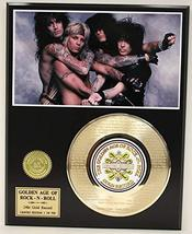 """Motley Crue Laser Etched With the the Lyrics to """"Girls, Girls, Girls"""" Limited Ed - $85.45"""