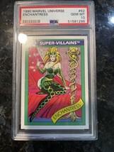 1990 Marvel Universe Enchantress 62 Mint PSA 10 Low Pop Rare Impel - $2,470.05