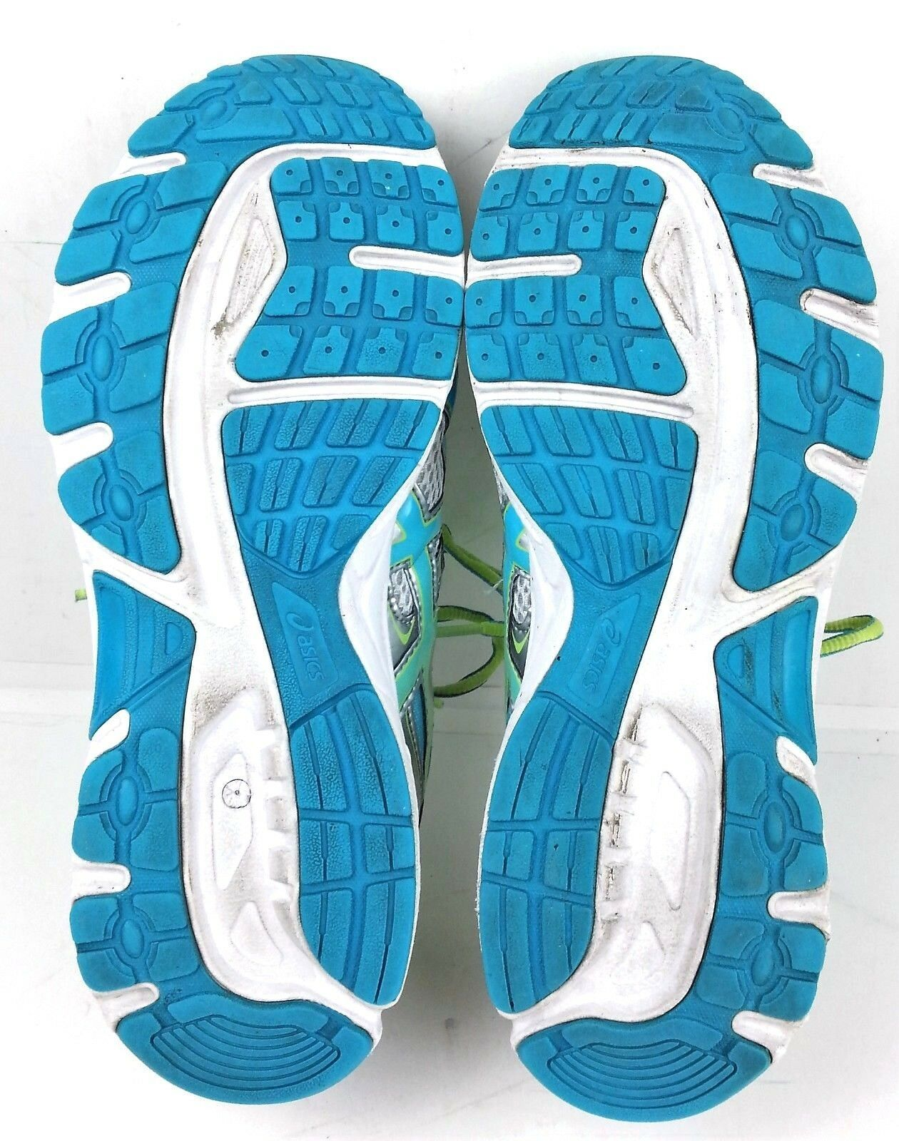 Asics Womens Gel Contend 2 Running Shoes Size 9.5 Sneakers T474N Silver Teal image 8