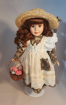 """Collector's Choice Limited Edition 17"""" Hand Painted Fine Bisque Porcelai... - $19.50"""