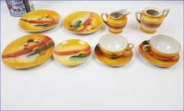 RARE, beautiful Fine Porcelain from Japan c.1950's demitasse tea cups/sa... - $35.00