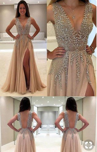 Rdht9y l 610x610 dress nude dress sparkle sparkle dress prom short sequin long prom dress