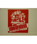 LORD OF MESS - MY HEAD IS A VISUAL TOWNSHIP - BOOK  - FREE SHIPPING - $14.03