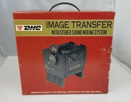 DMC Image Transfer Stereo Sound Mixing System Photo Film Slides Sound to... - $19.34
