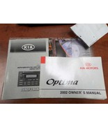 OPTIMAKIA 2002 Owners Manual 190100 - $24.75