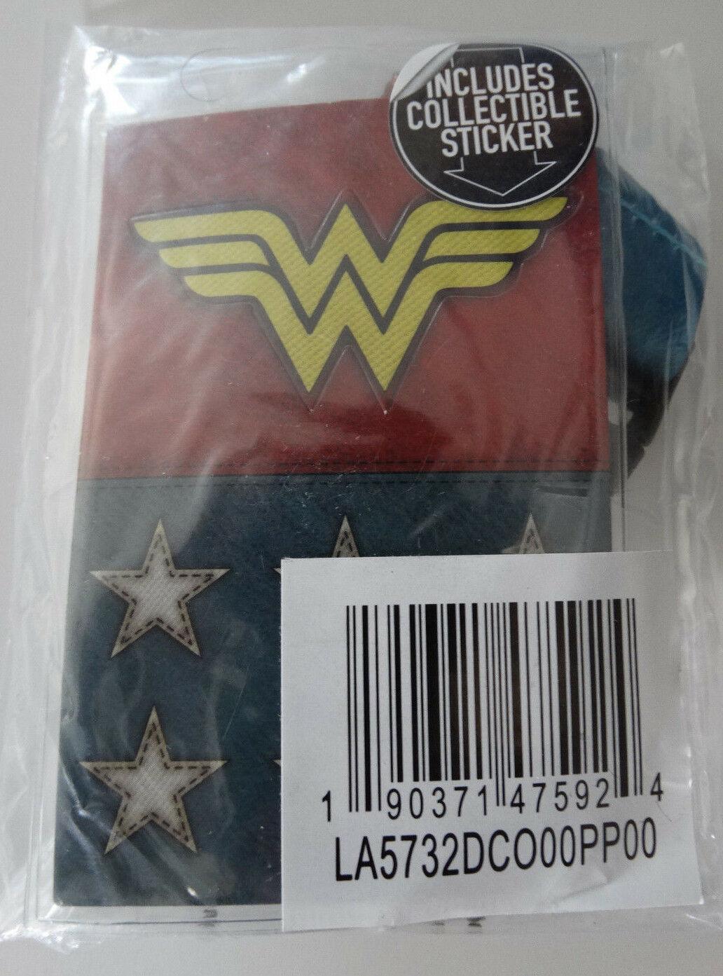 Wonder Woman Texture Suit Up Dc Comics ID Badge Holder Keychain Lanyard