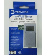 ST01 Intermatic 42On/Off Ops Wht In-Wall Timer OEM ST01 - $97.96