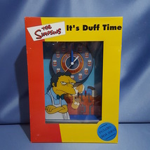 """The Simpsons """"It's Duff Time"""" Moe's Tavern Clock by WESCO LTD. - $56.00"""