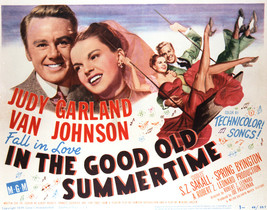 in The Good Old Summertime Featuring Judy Garland, Van Johnson 16x20 Canvas - $69.99