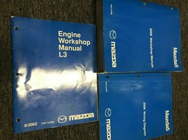 2006 Mazda5 Mazda 5 Service Repair Workshop Shop Manual Set W EWD + ENG ... - $89.05