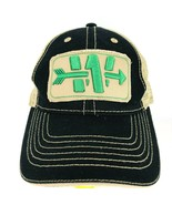 Walsh Group Embroidered W Arrow Baseball Hat Mesh Adjustable Cap Black T... - $29.69