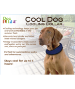 Penn Plax Glacial Gear Cooling Collar Dogs Large - £8.66 GBP