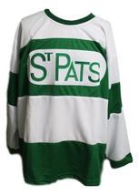 Custom Name # Toronto St Patricks Retro Hockey Jersey New White Any Size image 3