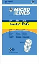 Paper Bag, Eureka Style Fand G MICRO-LINED Dvc 3PK - $6.42