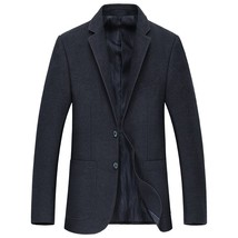 "2018 autumn high quality men""s casual blazers Slim Fit Mens coats  class... - $96.30"