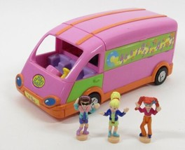 1998 Polly Pocket Polly and the Pops Tour Bus Vintage  Bluebird Toys COM... - $40.00