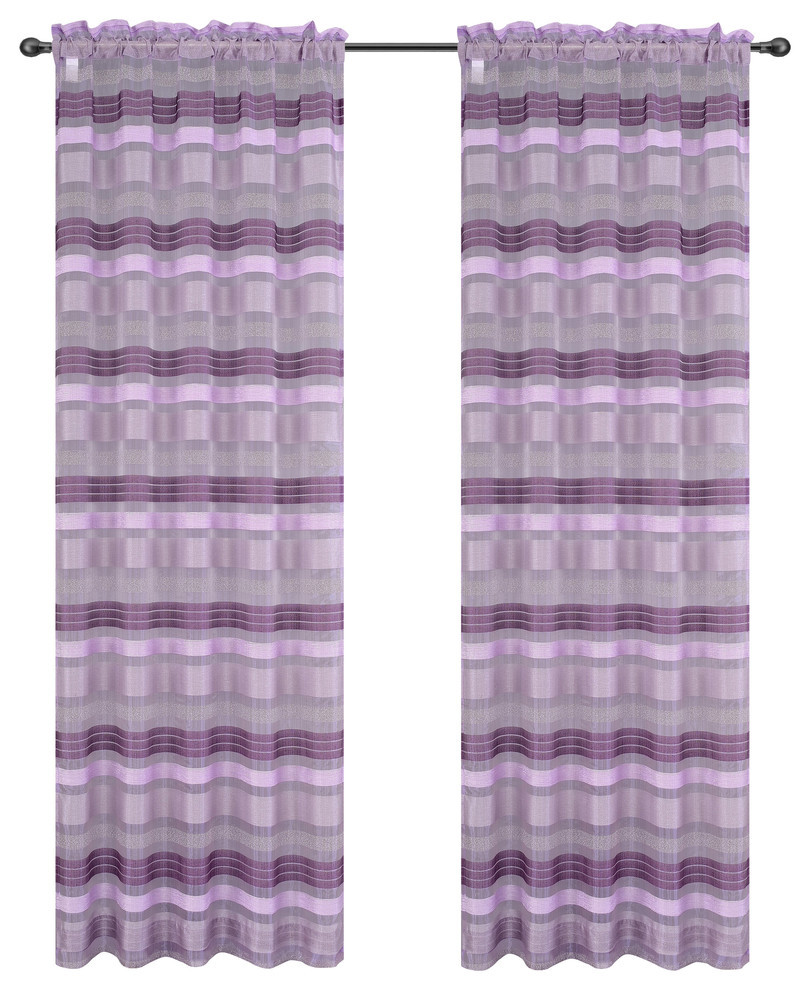 Becca Drapery Curtain Panels image 14