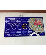 Italy Italia98 booklet 1998    stamps - $11.95
