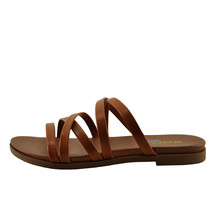 Soda Theta Tan Women's Criss Cross Open Toe Sandals - $23.95+