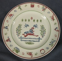Ten Lords Leaping Salad Plate Johnson Brothers Twelve Days of Christmas England - $14.95