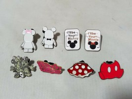 Disney Official Trading Pins Mickey & Minnie Couples' Lovers Theme Lot of 8 - $20.31