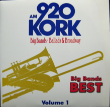 920 Kork Am Radio Big Bands Ballads & Broadway Vol. 1 [Vinyl LP, Brand New] - $34.79