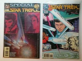 2 Star Trek The Next Generation Comic Books Lot DC 1994 & 1995 Movie TV Space - $7.95