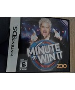 Nintendo DS Minute To Win It - $8.00