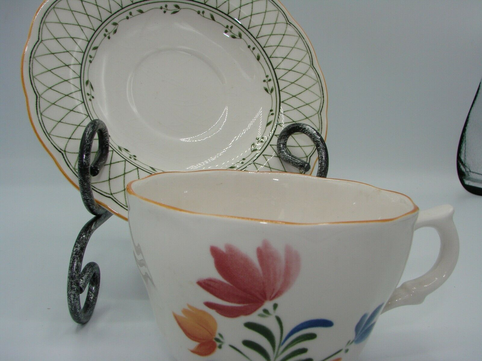 Nikko China Hampton  Provincial Designs Made in Japan  6 Cups 8 Saucer
