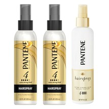 PANTENE* (3) 8.5 oz Bottles PRO-V HAIRSPRAY Hair Spray #4 EXTRA STRONG H... - $24.99