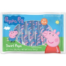 Peppa Pig 20 Pack Lollipop Swirls - $17.50