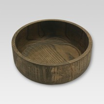 """Ashwood Round Serving Bowl - Threshold COLOR-BROWN 10"""" SOLID NEW  - $24.60"""