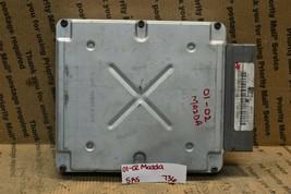 01-02 Mazda Tribute Engine Control Unit ECU 1L8U12A650HC Module 736-5a5 - $19.99