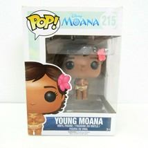 Funko POP! Disney - Moana Vinyl Figure YOUNG MOANA #215 Minor Box Wear - $27.67