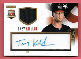 2014 Trey Killian Panini USA Baseball Rookie Auto Jersey 82/99 - $2.84