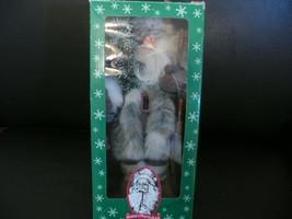 """Santa""""s Workshop 16 inch Santa Trapper,hunter,fisher figuer - $39.99"""