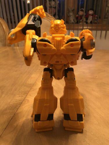 "Bumblebee Transformer 2009 Hasbro 10"" Talks and Lights Up EUC image 6"