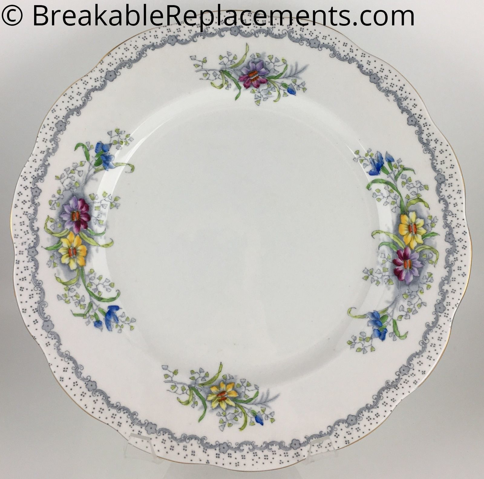 Royal Albert Gem Dinner Plate