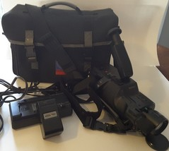 Sony Handycam CCD-F33 8mm Analog Camcorder with solidex padded camera bag - $37.12