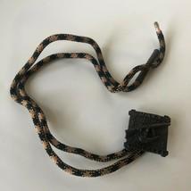 Vintage Western Design Davy Crockett Bolo String Tie Toy Cowboy  - $12.00