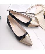 Ladies Women's Shoes Fashion Pointed Toe Casual Shoes Low Heel Flat Shoes - $26.99