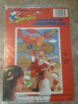 "Vintage Disney Unique Duck Tales Birthday Poster 17"" x 23"" Walt Disney C... - $39.55"
