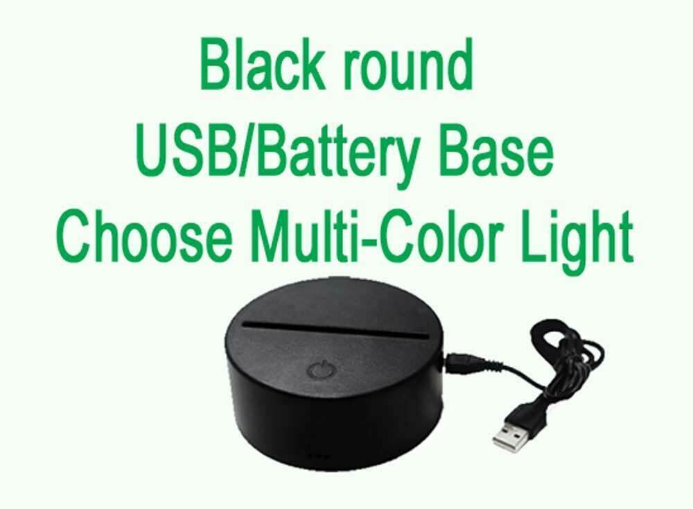 Personalized Unicorn Lamp Night light USB or Wall Plug In image 6