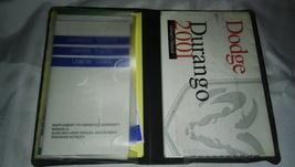2001 Dodge Durango Owner's Manual With Case And Other Booklets - $14.99