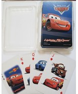 Disney PIXAR Cars Lighting McQueen Playing Cards in plastic case - $4.95