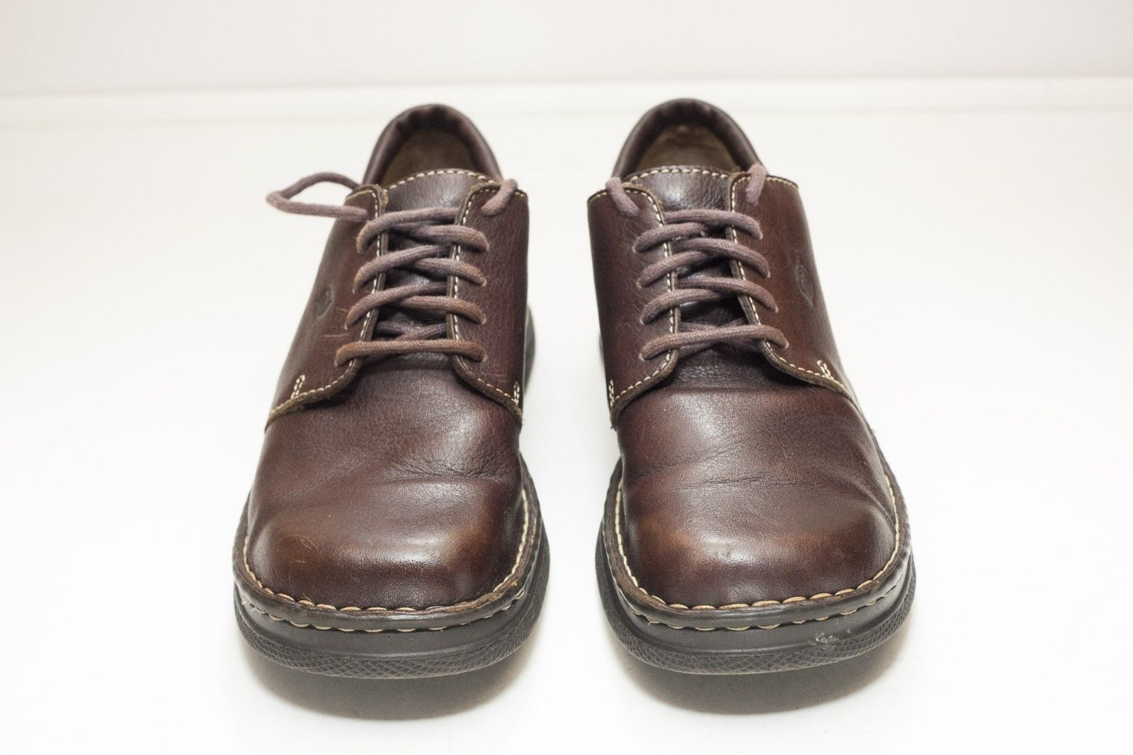 Born 9.5 Brown Lace Up Flats Women's EU 41