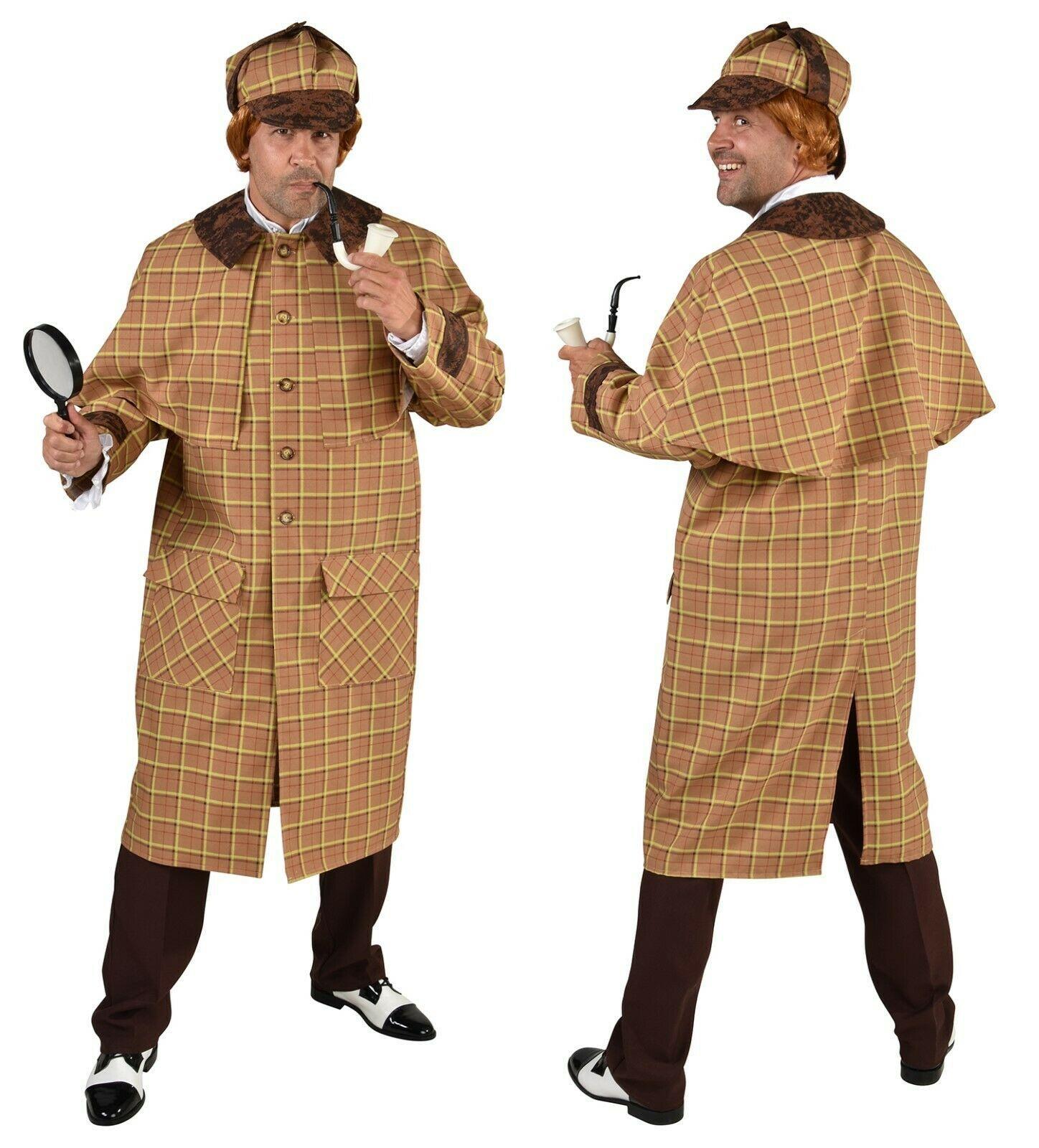 Victorian / Edwardian Sherlock Holmes Costume Deluxe