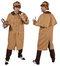 Victorian / Edwardian Sherlock Holmes Costume Deluxe  - $54.16