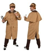 Victorian / Edwardian Sherlock Holmes Costume Deluxe  - $81.79 CAD