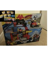 9 Disney Junior Mickey & the Roadster Racers Collection + Garage Playset - $235.00